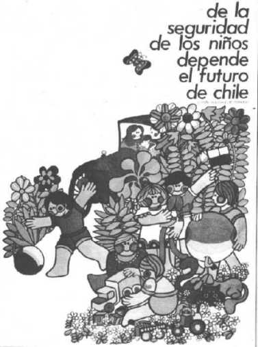 The future of Chileans childrens depends on the security.