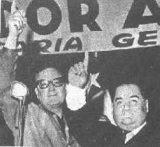 With Oscar Naranjo.