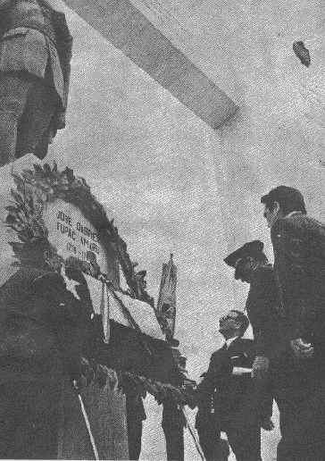 A homage for José Gabriel Tupac Amaru. 1971
