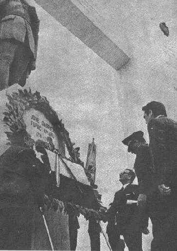 Un homenaje a José Gabriel Tupac Amaru. 1971