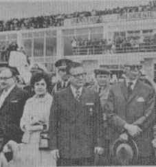 Con el Presidente de Ecuador, Velasco. Quito, 1972.